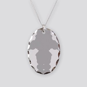 forbidden-planet-robot-shape-g Necklace Oval Charm