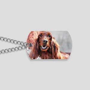 Irish Setter Dog Dog Tags