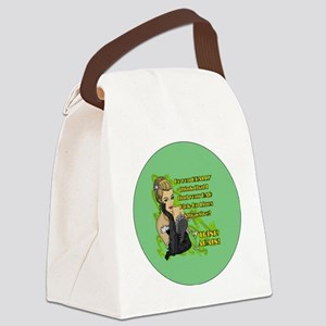 BAD-PICK-UP-LINES-3-INCH-BUTTON Canvas Lunch Bag