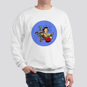 TIME-FOR-COCKTAILS-3-INCH-BUTTON Sweatshirt