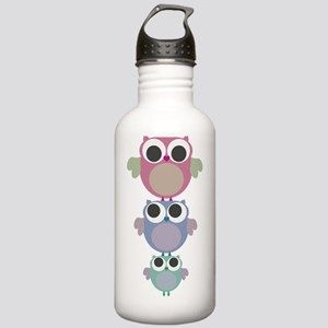 owls three tower Stainless Water Bottle 1.0L