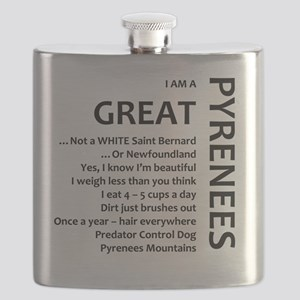 I am a Great Pyrenees Flask