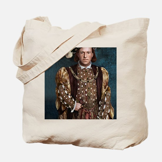 16X20 Young Henry VIII Print Tote Bag