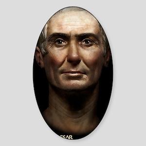 5X8 Julius Caesar Journal Sticker (Oval)