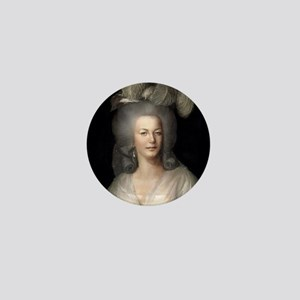 9X12 Marie Antoinette Print Mini Button