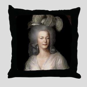 9X12 Marie Antoinette Print Throw Pillow