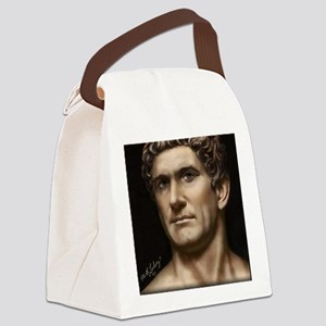 14X10 Mark Antony Print Canvas Lunch Bag