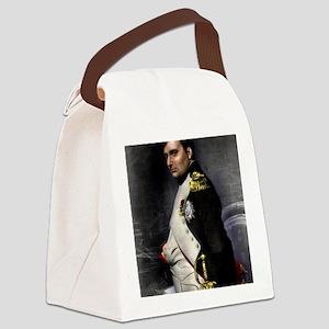 9X12 Napoleon Print Canvas Lunch Bag