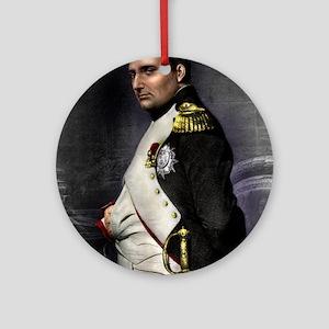 9X12 Napoleon Print Round Ornament