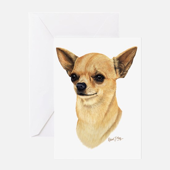Chihuahua Dark copy Greeting Card