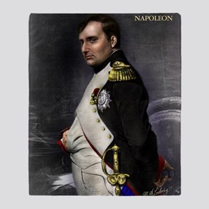 16X20 Napoleon Print Throw Blanket