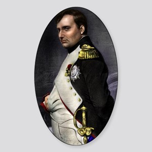 16X20 Napoleon Print Sticker (Oval)
