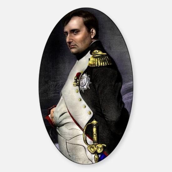 16X20 Napoleon Print Sticker (Oval)
