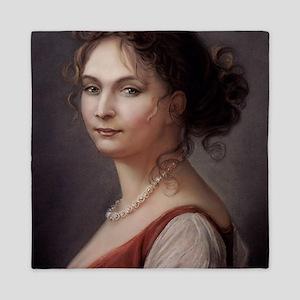 16X20 Queen Louise of Prussia Print Queen Duvet