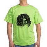 Cocker Spaniel Green T-Shirt