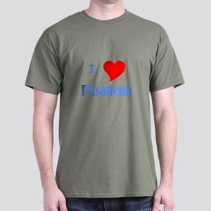 I Love Pasadena Dark T-Shirt
