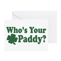 Who's Your Paddy Greeting Cards (Pk of 10)