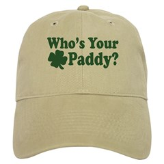 Who's Your Paddy Baseball Cap