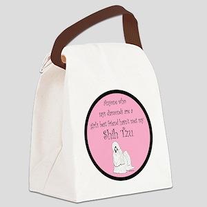 ShihTzuGBF Canvas Lunch Bag