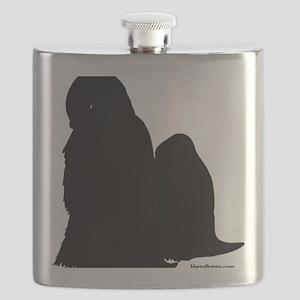 ShihTzuBlack Flask