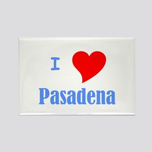 I Love Pasadena Rectangle Magnet