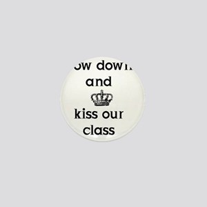 10x10_Bow Down (BLK) Front Image Mini Button
