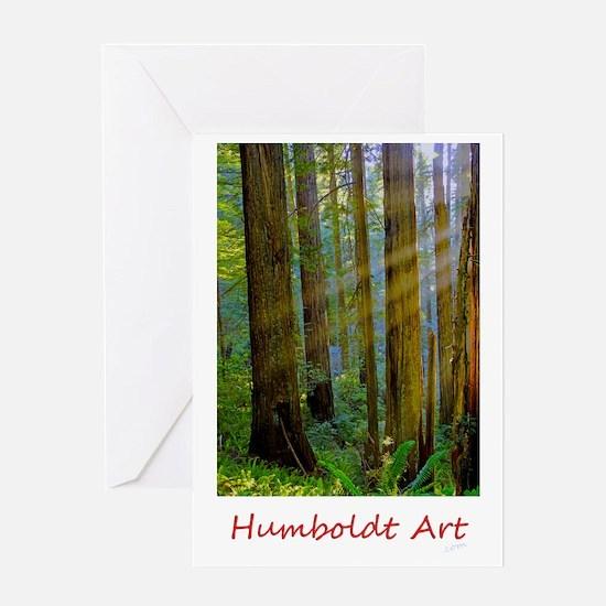 Humboldt Rays.gif Greeting Card
