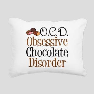 Cute Chocolate Rectangular Canvas Pillow