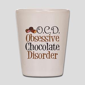 Cute Chocolate Shot Glass