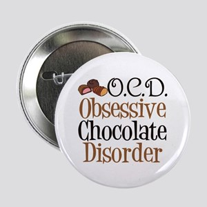 "Cute Chocolate 2.25"" Button"