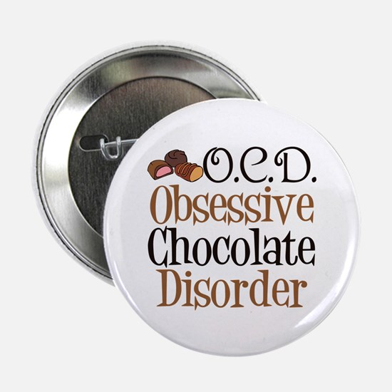 "Cute Chocolate 2.25"" Button"