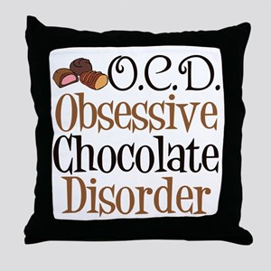 Cute Chocolate Throw Pillow