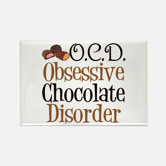 Cute Chocolate Rectangle Magnet