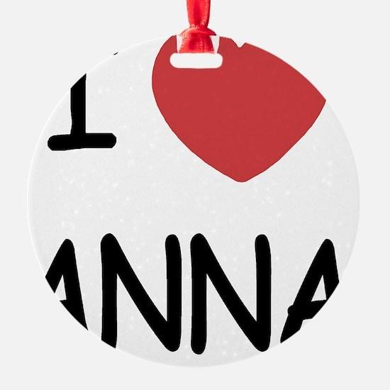 ANNA Ornament
