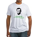 Abraham Lincoln Fitted T-Shirt