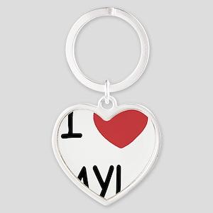 LAYLA Heart Keychain