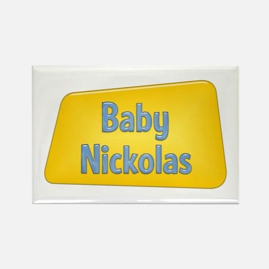 Baby Nickolas Rectangle Magnet
