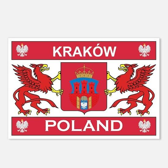 Krakow Postcards (Package of 8)