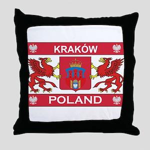 Krakow Throw Pillow