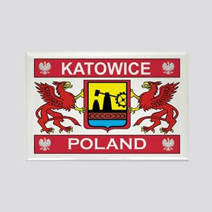 Katowice Rectangle Magnet