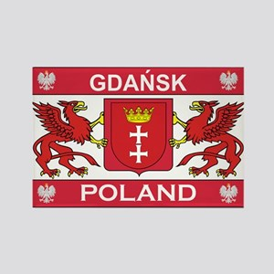 Gdansk Rectangle Magnet