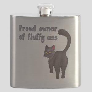 Fluffy ass Flask