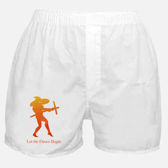 Let the Dance Begin Boxer Shorts