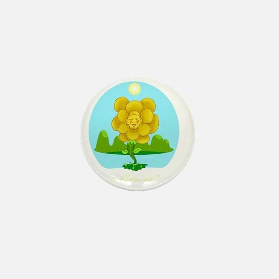 A Flower? Mini Button