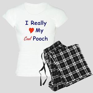 2000x2000-love-pooch Women's Light Pajamas