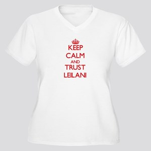 Keep Calm and TRUST Leilani Plus Size T-Shirt