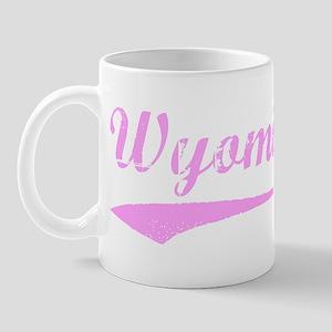 Vintage Wyoming (Pink) Mug