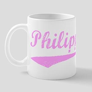Vintage Philippines (Pink) Mug