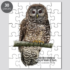 Northern Spotted Owl Puzzle