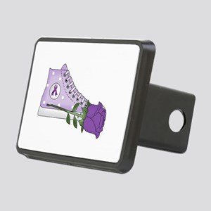 Walk a Mile in My Shoes Lu Rectangular Hitch Cover